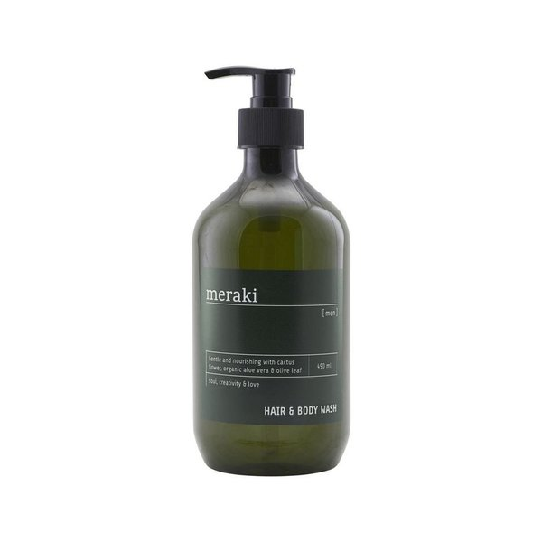 Meraki Men Hair & Body Wash suihkusaippua 490 ml