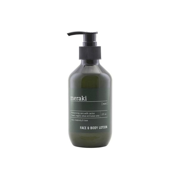 Meraki Men Face & Body Lotion, voide, 275 ml