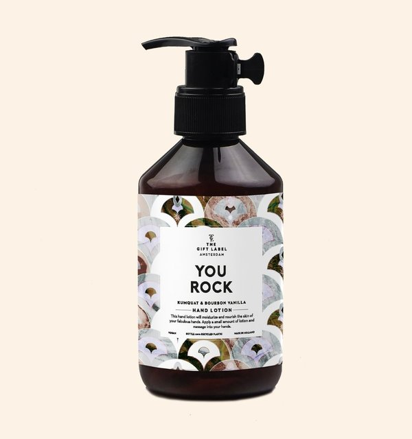 The Gift Label Hand Lotion, You Rock, käsivoide 250 ml