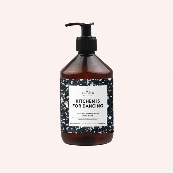 The Gift Label Hand soap, Kitchen is for dancing, nestemäinen käsisaippua 500 ml