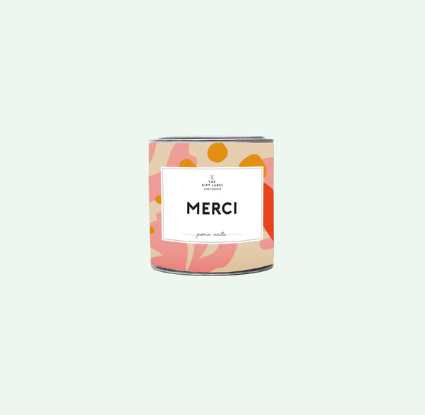 The Gift Label Candle Big, Merci, tuoksukynttilä 130 g